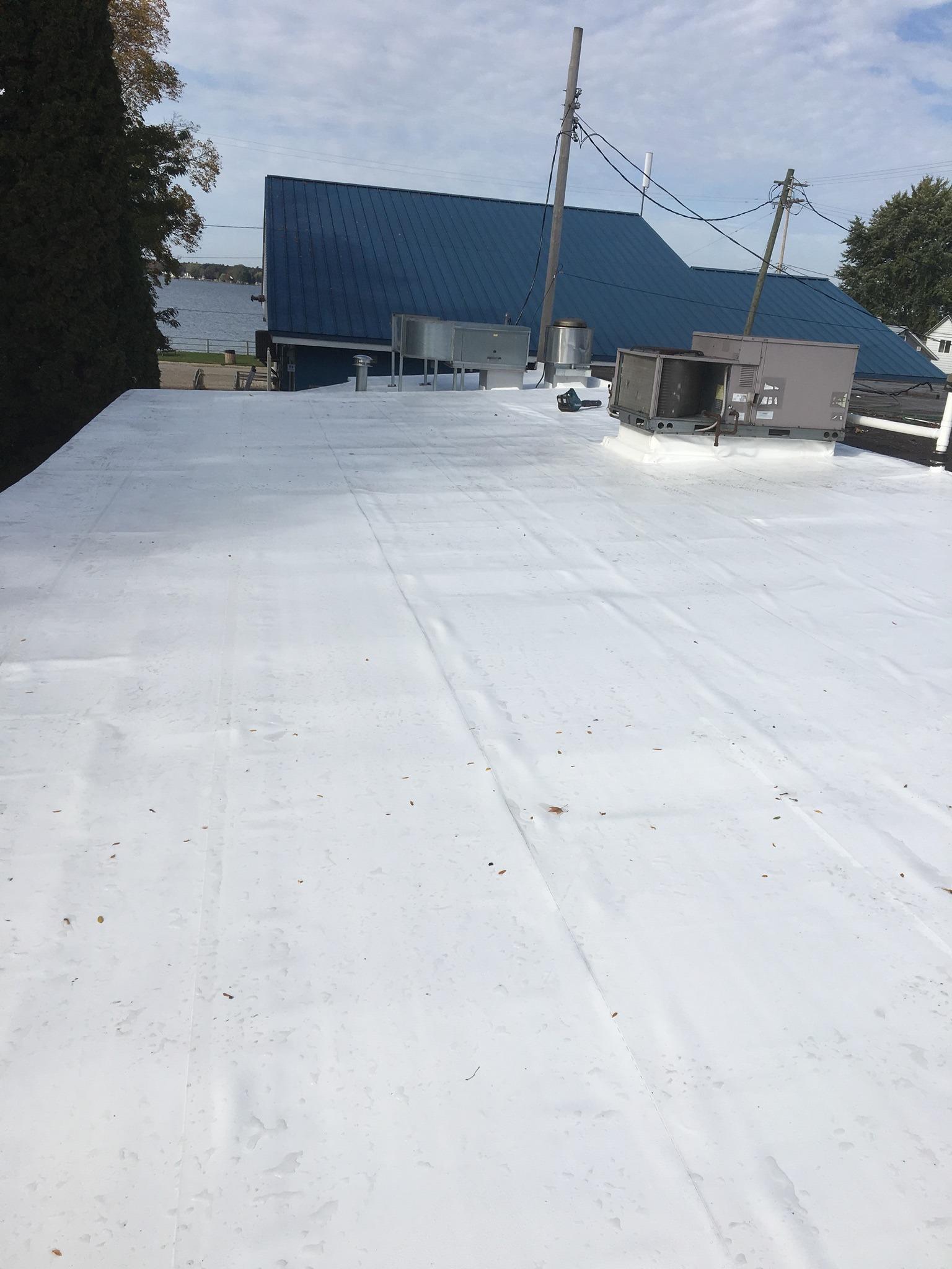 membrane roof in clare mi